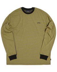 WKNDRS Multi Pinstriped T-shirt (mustard) - Green