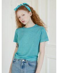 Baby Centaur Tiny Twinkle Knit Top [] - Blue