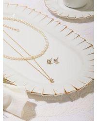 Matias - Mini Pearl Necklace Set _gold - Lyst