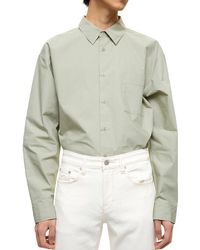 Plac Over-sized Shirt - Green