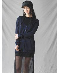 Grace Raiment - Basic Knit Cardigan - Lyst