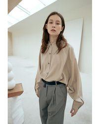 OUI MAIS NON Monde Wool Shirt - Grey