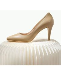 LAGRAZIA 81219be Haley Court Shoes Heel - Natural