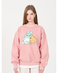 MAINBOOTH Toy Story Sweatshirt - Pink