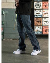 SHETHISCOMMA Slit Cut Jean - Multicolour