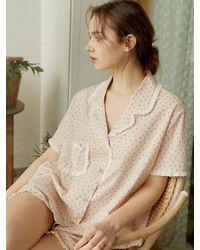 ULLALA PAJAMAS - Girl With Flower Pajama Set - Lyst