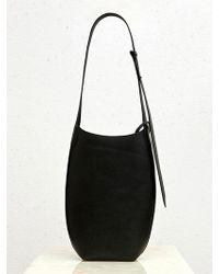 Low Classic - 17ss Mini Cocoon Bag Black Ivory - Lyst