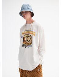 WKNDRS University Ring Graphic Printing T-shirt (white)