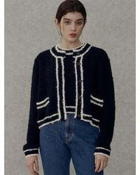 among A Feather Line Knit Set - Black