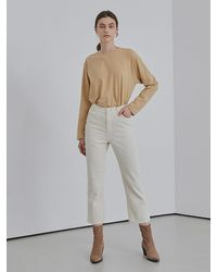 among Cotton Banding Trousers - White