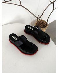 Reike Nen Platform Flip-flops - Black