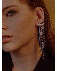 VIOLLINA - Another V Waterfall Stone Single Earring - Lyst