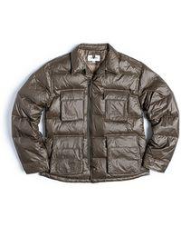 Eastlogue Bdu Down Puffer Jacket Olive - Green