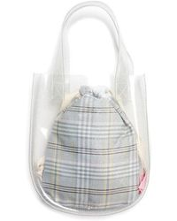 Margarin Fingers - Round Pvc Tote Bag Glitter - Lyst