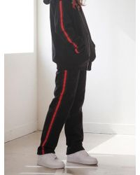 TARGETTO - Napping Line Pants Black - Lyst