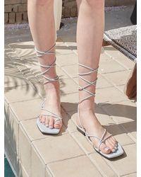 JUST JINNY Daphne Flat Sandals Jjna1gfs05 - Multicolour