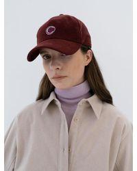 Clu Too Corduroy Ball Cap - Brown
