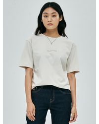Plac Regular Fit Print T-shirts - Natural
