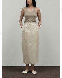 Amomento Garconne Skirt - White
