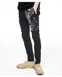 VLADVLADES Bandana Trousers - Black