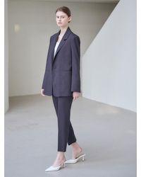 NILBY P Suit Trousers - Blue