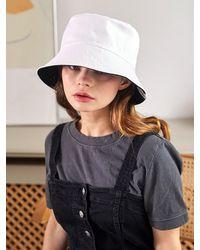 SLEEPYSLIP [unisex] Reversible Bucket Hat - Black