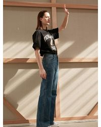 AEER Denim Vintage Trousers - Blue