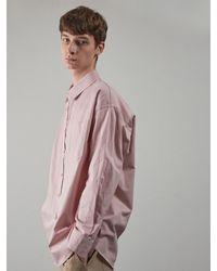 OWL91 Oversize Basic Shirts - Pink