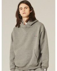 W Concept - [unisex] Colorful Logo Sweatshirts Hoodie Lt189 - Lyst