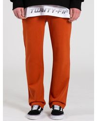 COSTUME O'CLOCK Sm 2h Line Sweat Trousers Dark Orange
