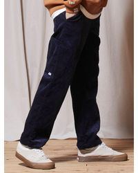 URBANDTYPE Ubdty Corduroy Banding Trousers - Blue