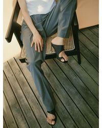 Reike Nen - Rk2-sh023 Asymmetry Turnover Sandal - Lyst
