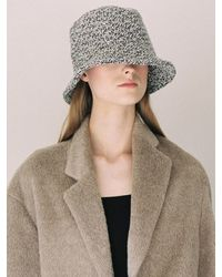 Awesome Needs Classic Bucket Hat Tweed - Gray
