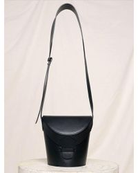 Low Classic - 17fw Classic Leather Cross Bag - Black - Lyst
