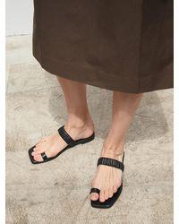 MARONY CROSHET 008 Toe Ring Slide Sandals 5 Colours - Multicolour