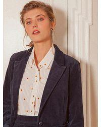 Bensimon Velvet Jacket - Blue