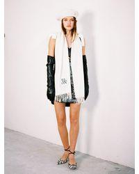 THE ASHLYNN Isabela Wool Scarf (4 Colors) - Black