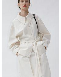 AEER Jacket Curved Sleeve Coat - Multicolour