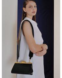 Reike Nen Rl4-bg004 / Pebble Long Mini Bag - Black