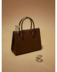 MUTEMUSE Magazine Bag Small () - Brown