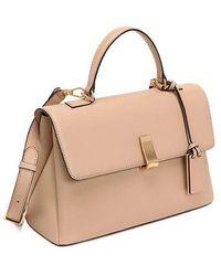 Joy Gryson Margo Classic Satchel Bag - Natural