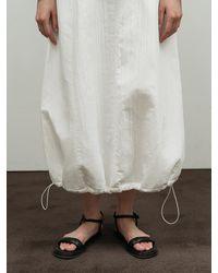 Amomento Padded Skirt - White