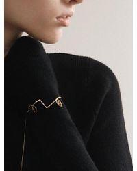 CONTEMPOH - Delicatism Linear Face Cuff Bracelet - Lyst