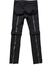 VLADVLADES 4-zipper Trousers - Black