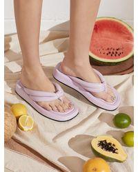 JUST JINNY Juju Flat Sandal Jjnb1gfs12 - Natural