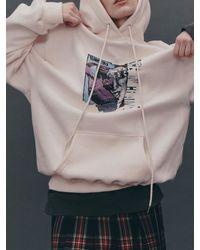 Fleamadonna A.i.c Printed Jersey Hoodie - Black