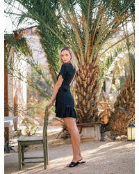 DAZE DAYZ Ebony Wrap Dress - Black