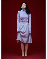Grace Raiment - Banding Midi Skirt - Lyst