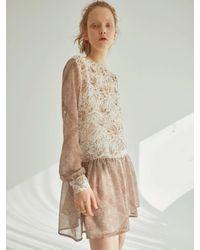 OUI MAIS NON Hey Charlotte Mini Dress - White