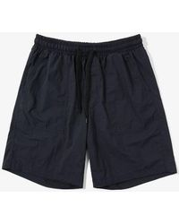 W Concept - Band Fatigue Shorts Navy - Lyst